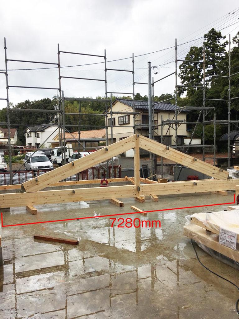 大空間木造建築倉庫福井